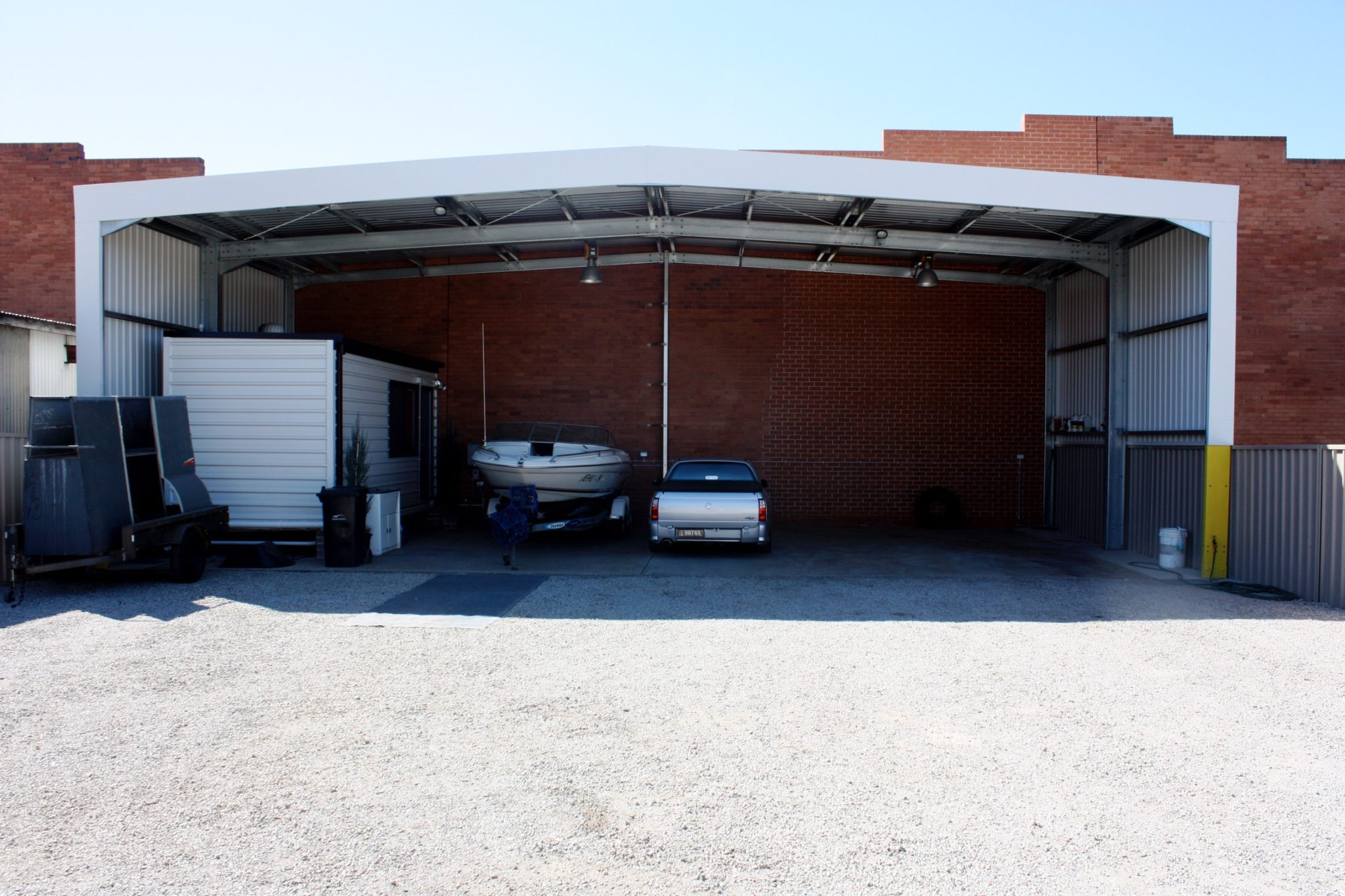 Open Fronted Storage Shed