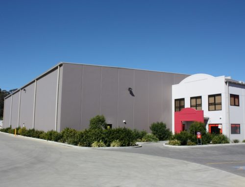 Concrete Tilt Panel Warehouse & Office – Cospak Australia