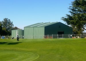 Pump Station Shed Turramurra Golf Course