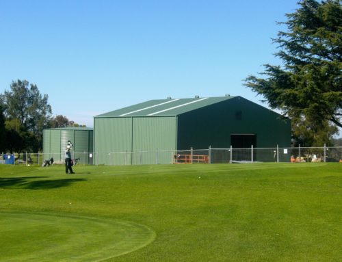 Pump Station Shed – Turramurra Golf Course