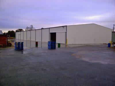 Steel Warehouse Shed in Vinyard