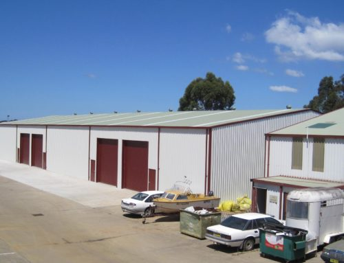 Turnkey Warehouse Shed and factory Units
